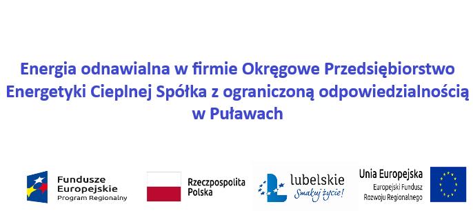 Energia odnawialna w OPEC Sp. z o.o. w Puławach